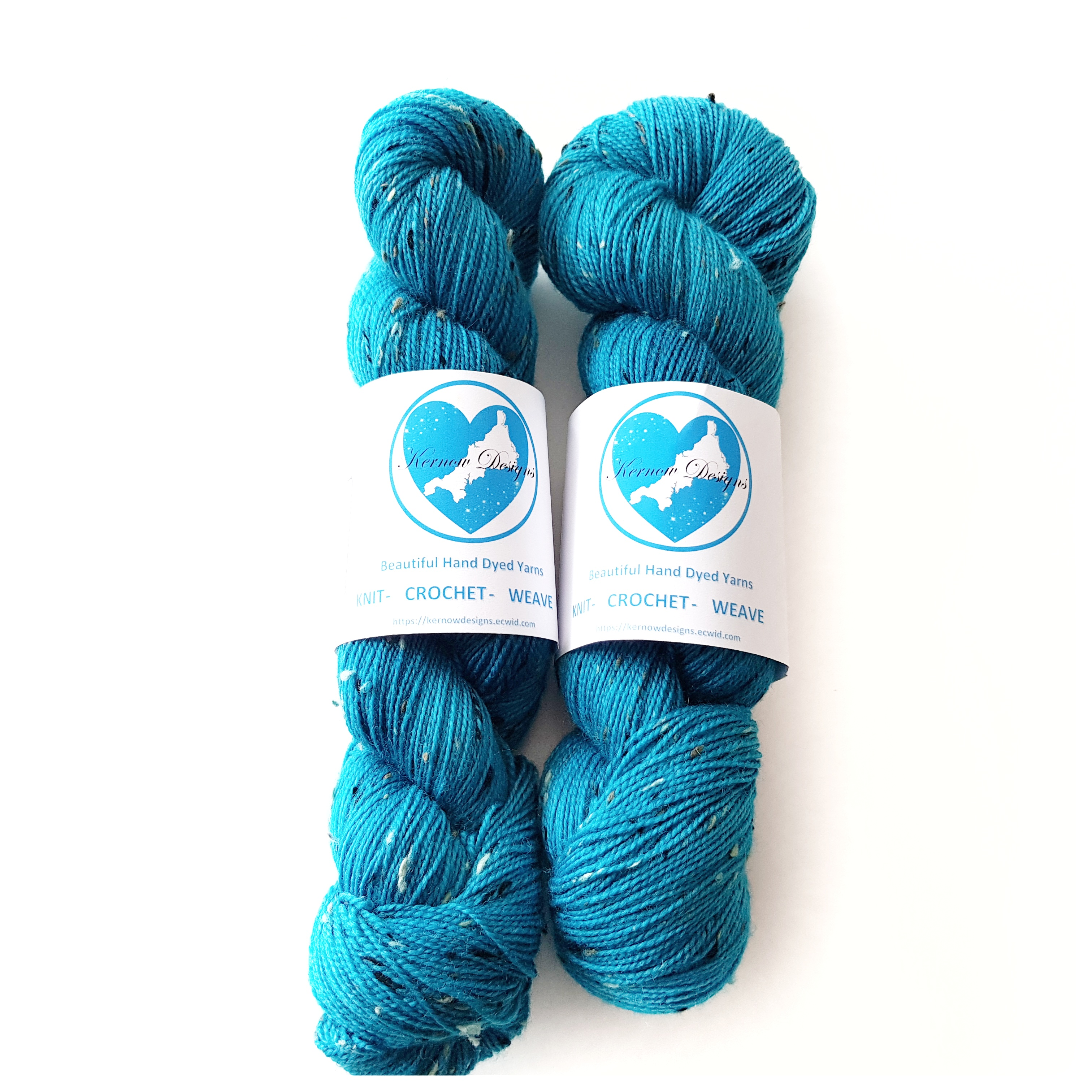 Totally Turquoise Hand Dyed Yarn