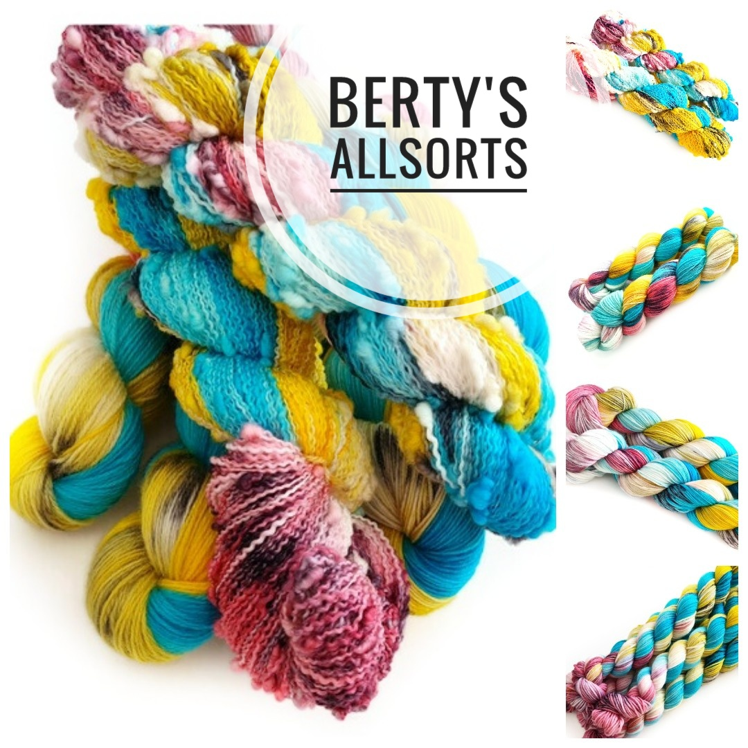 Berty's Allsorts Hand Dyed Yarn