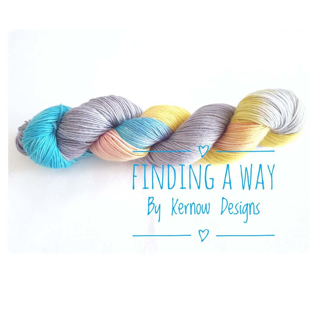 Finding A Way Hand Painted Yarn - (Fundraiser Yarn.)