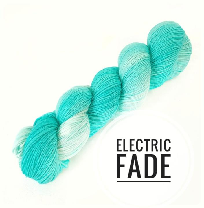 Electric Fade Hand Dyed Yarn