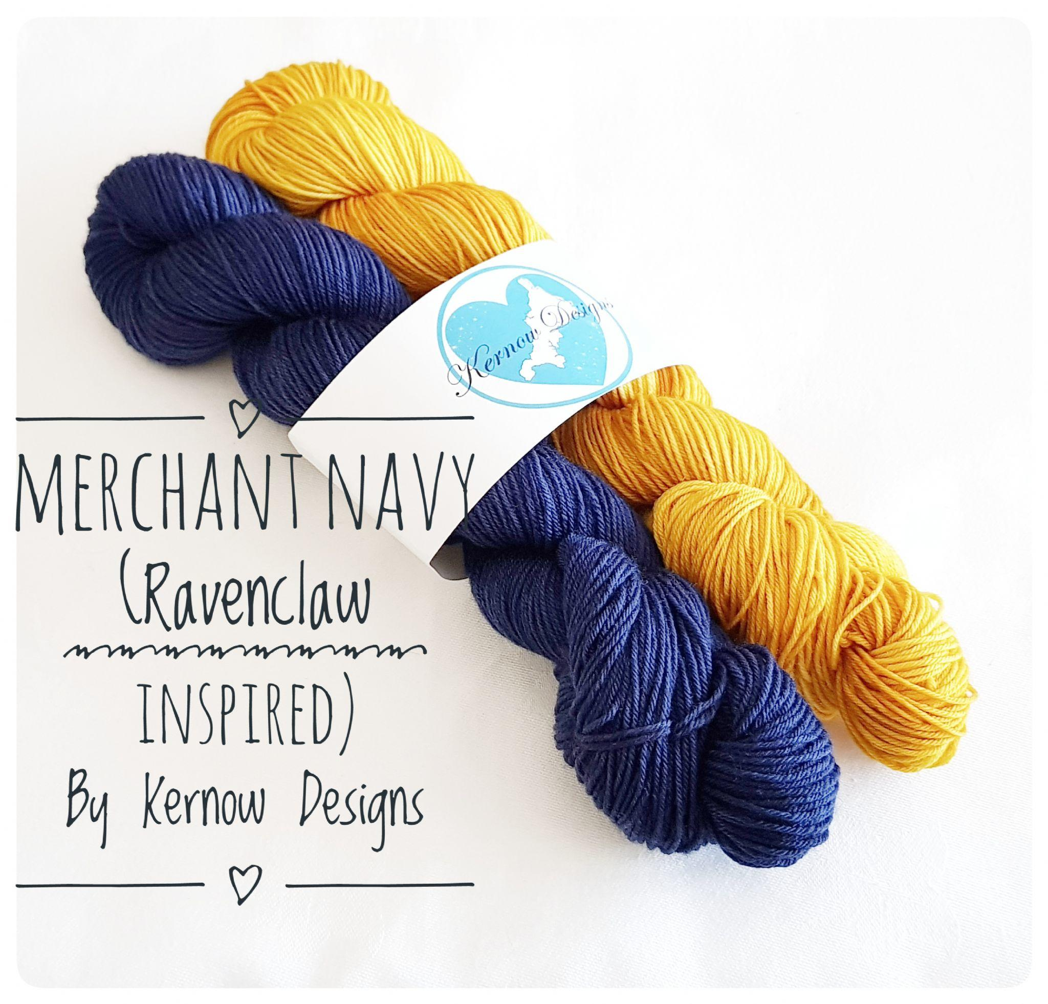 Merchant Navy 100g Set Hand Dyed Yarn
