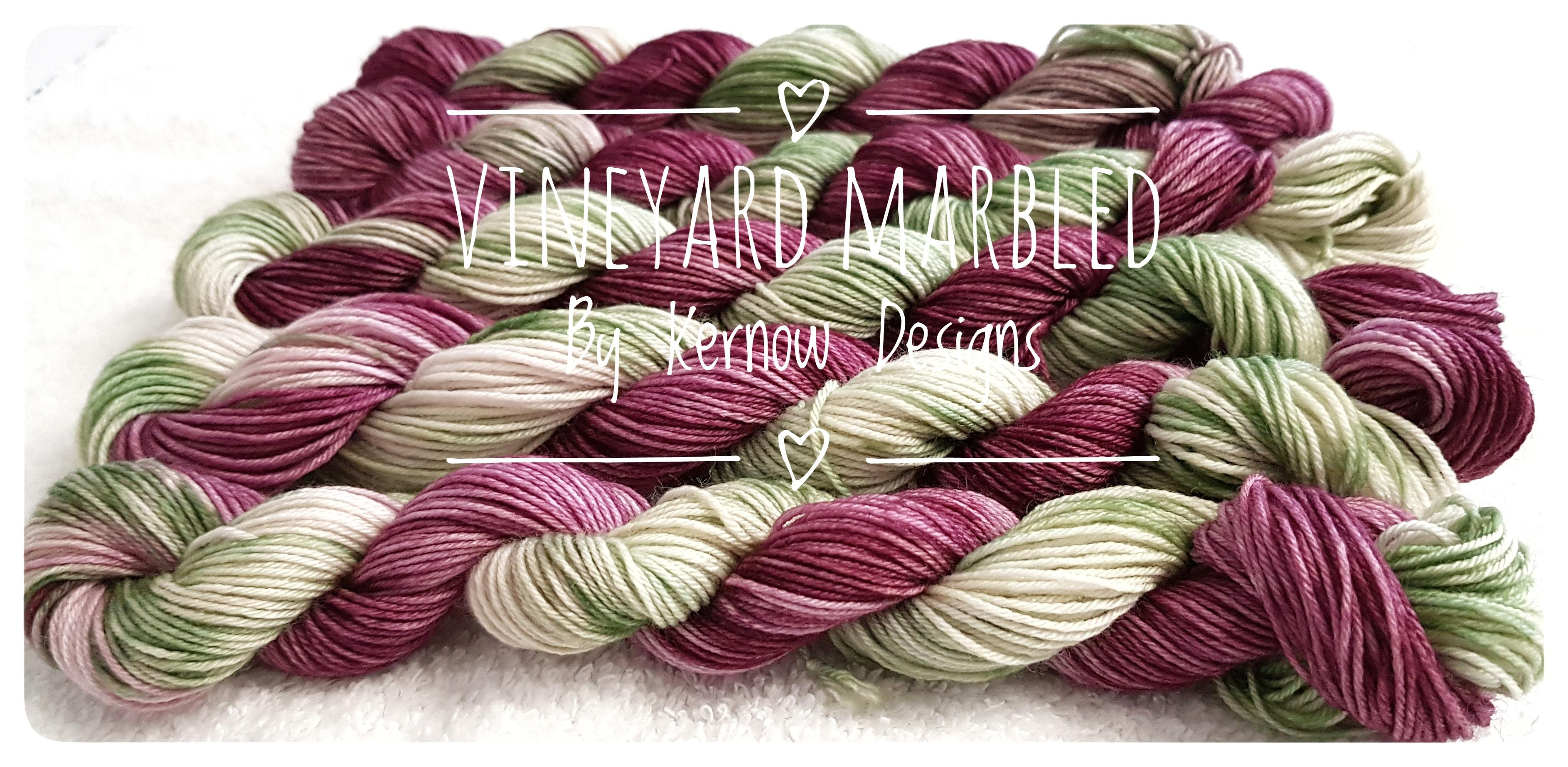 Vineyard Hand Dyed Yarn.
