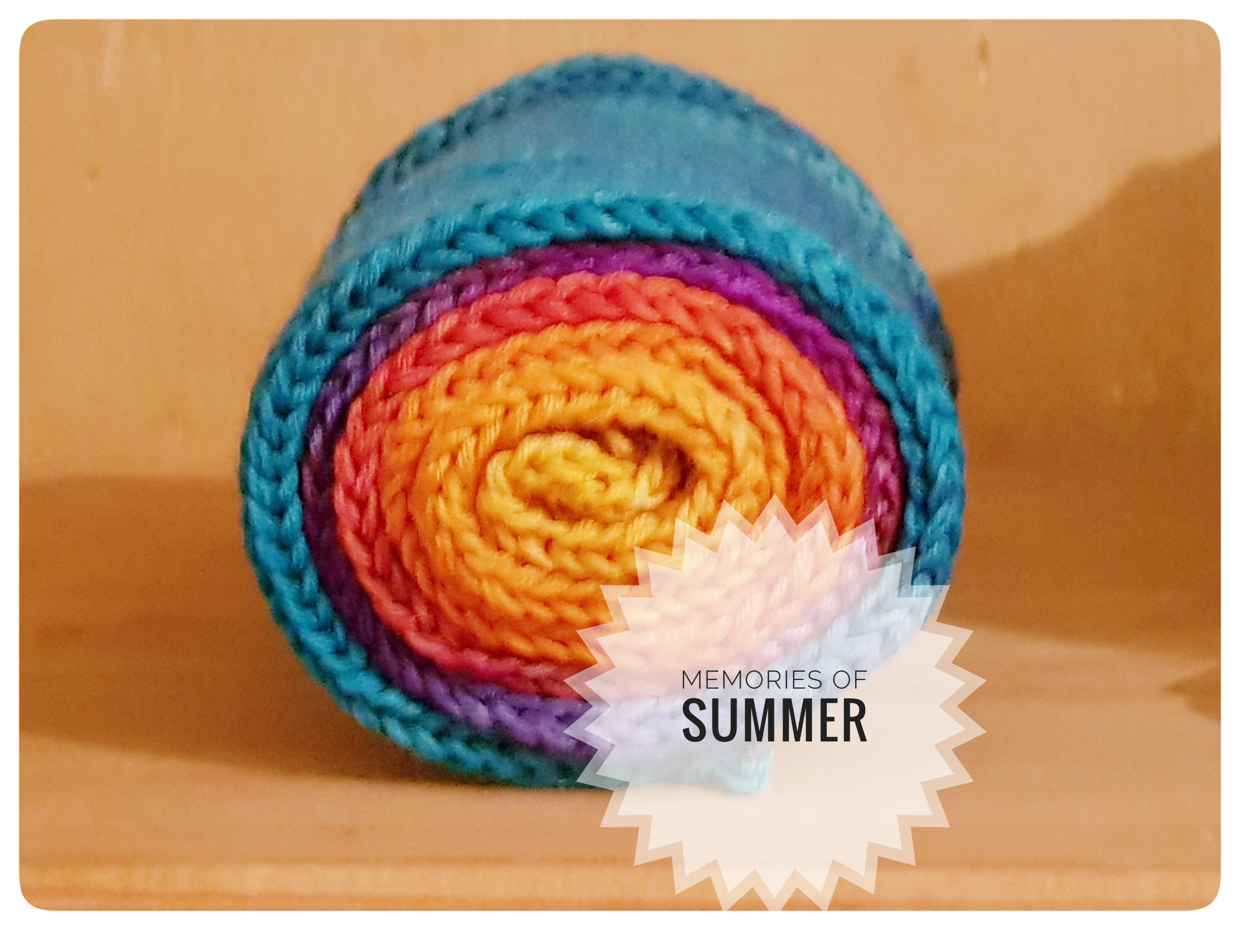 Memories Of Summer Hand Dyed Yarn