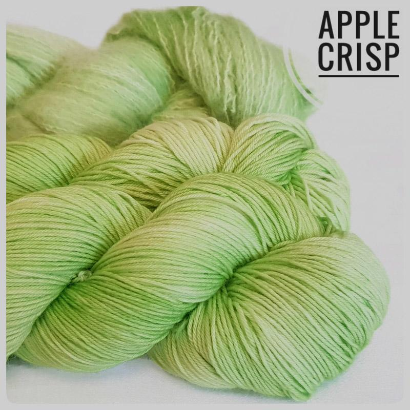 Apple Crisp Hand Dyed Yarn.