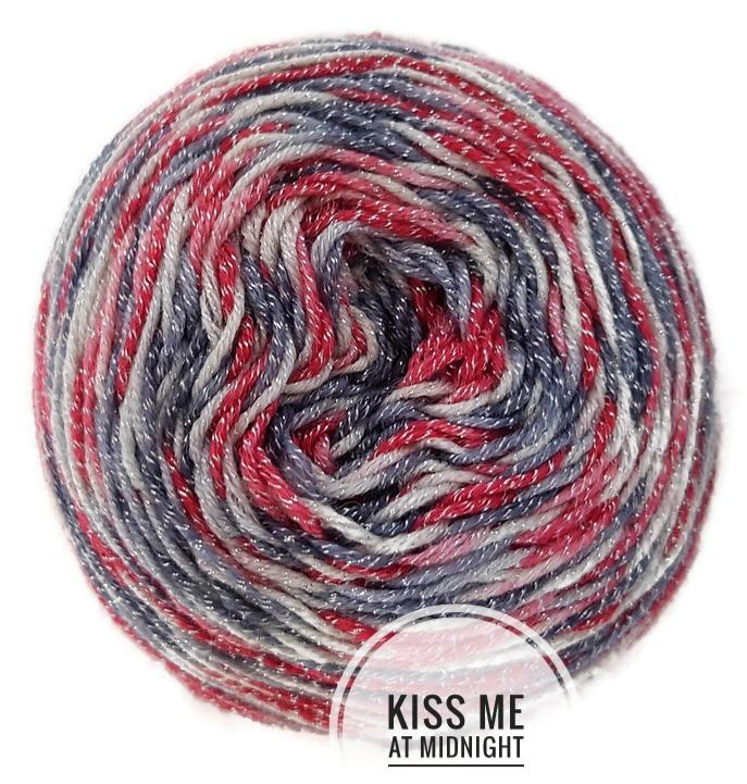 Kiss Me At Midnight Hand Dyed Yarn